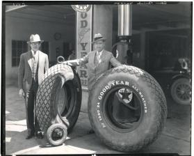Clyde Oden, Oden Buick garage, Goodyear tires