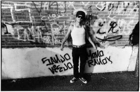 Homeboy against Wall, 1982