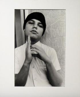 Homeboy with Hand Signal, 1982