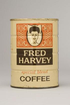 Fred Harvey Coffee Can