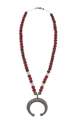 Isleta Necklace with Silver Naja