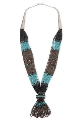 Multi-strand Santo Domingo Necklace