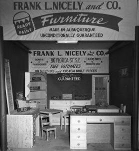 Frank L. Nicely and Company Furniture's exhibit at the State Fair