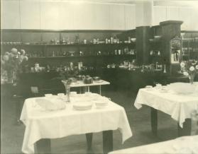 The interior of Korber's China Store