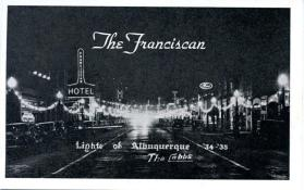 The Franciscan Hotel at Night