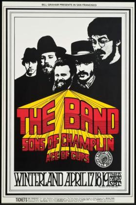 BG169: the Band, Sons of Champlin, Ace of Cups; April 17-19, Winterland Ballroom